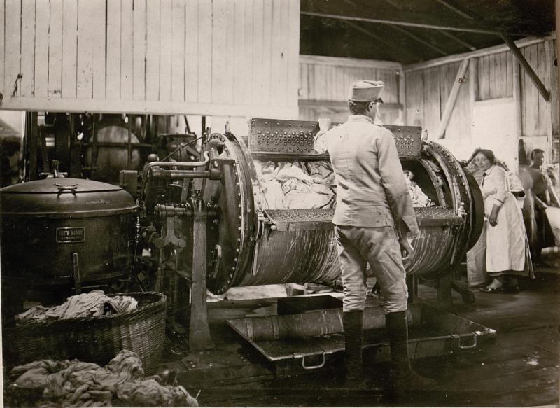Dampfwäscherei in Kolomea: Waschraum.I.