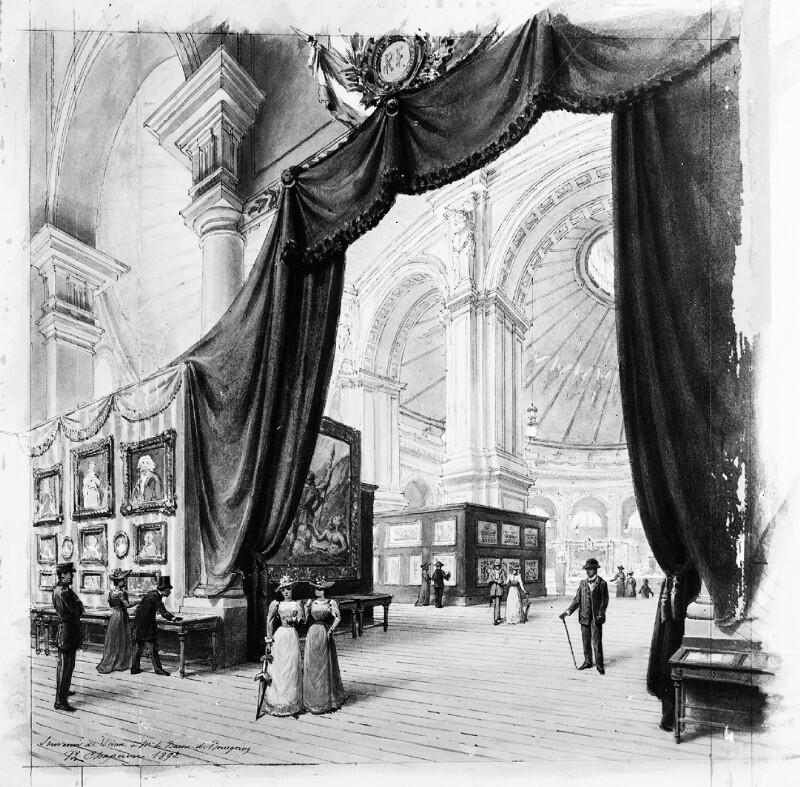 Wien 2, Wiener Musik- und Theaterausstellung 1892