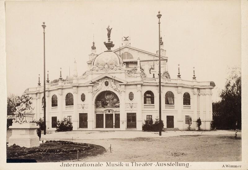 Wien 2, Internationale Ausstellung für Musik- und Theaterwesen