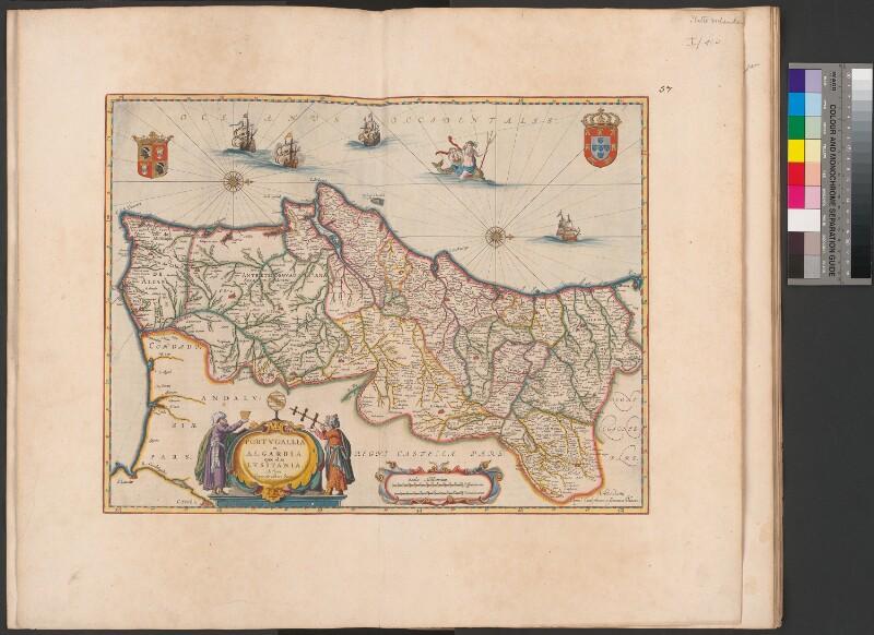 Landkarte von Portugal