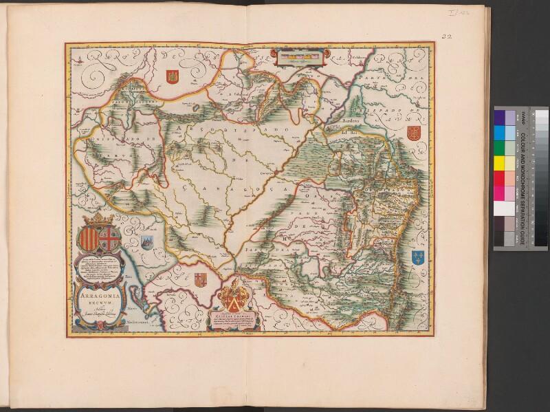 Landkarte von Aragonien