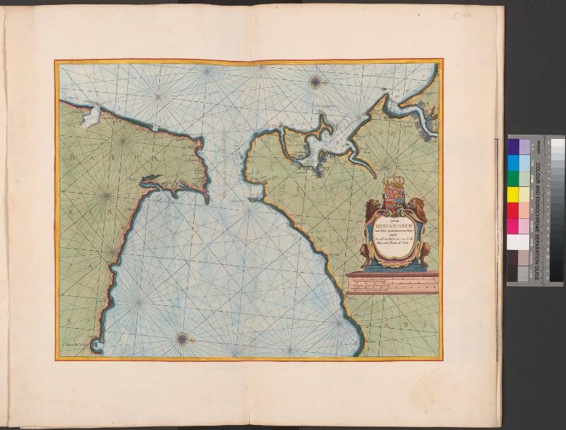 Meerenge Von Gibraltar Karte.Osterreichische Nationalbibliothek Karte Der Strasse Von