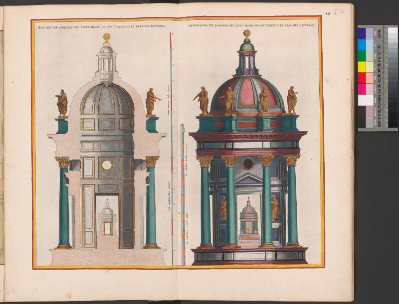 Chorraum und Tabernakel der Kirche des Escorial