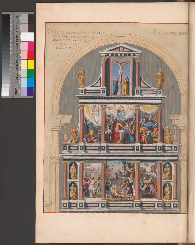 Altarbild in der Kirche des Escorial