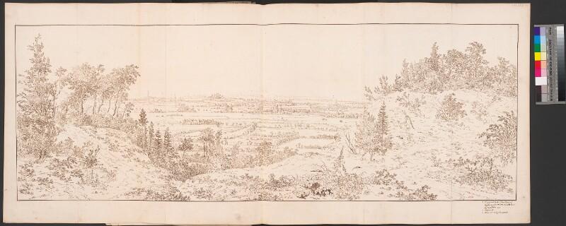 Blick vom Freudenberg auf Emmerich und Rees