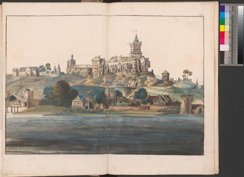 Die Schwanenburg in Kleve