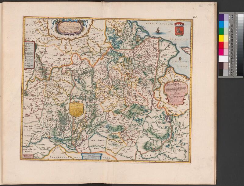 Landkarte von Litauen