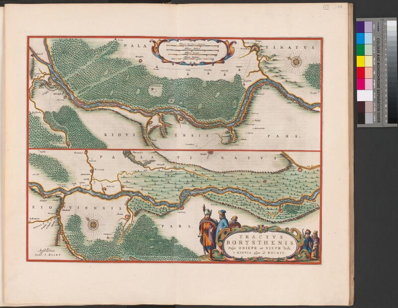 Landkarte des Dnepr (1. Teil)