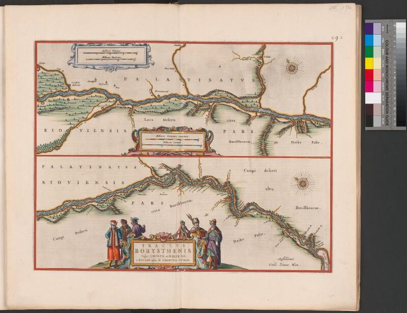 Landkarte des Dnepr (2. Teil)
