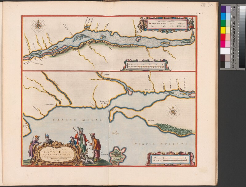 Landkarte des Dnepr (3. Teil)