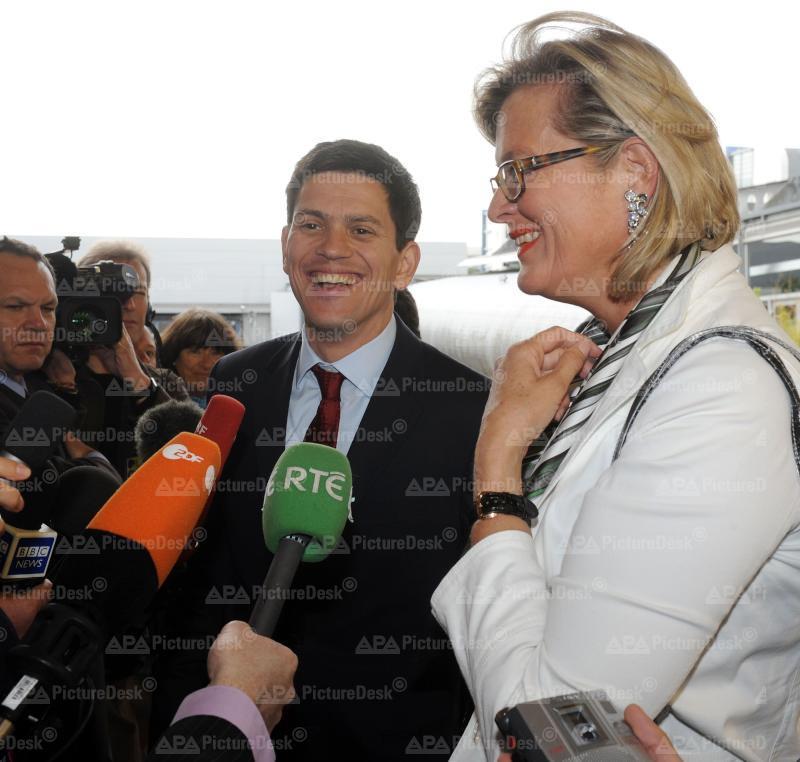 EU-Außenministerrat in Luxemburg: Plassnik/Miliband