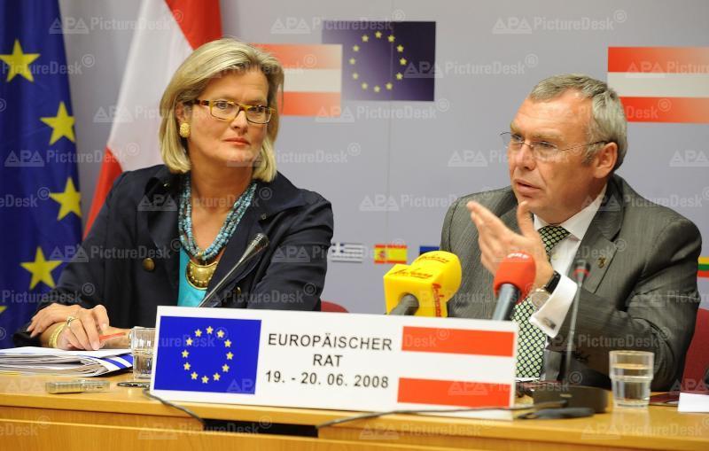 Europäischer Rat: Plassnik/Gusenbauer