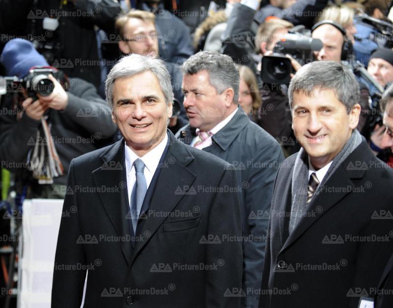 Brüssel - EU Gipfel mit Werner Faymann und Michael Spindelegger