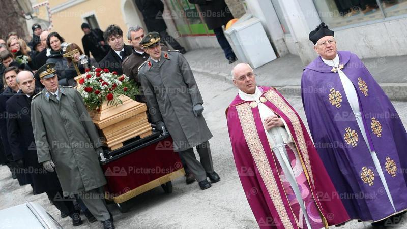 Begräbnis von Beata Christandl