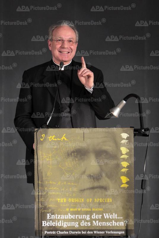 Charles Darwin - Jahr 2009: Vortrag von Kardinal Schönborn