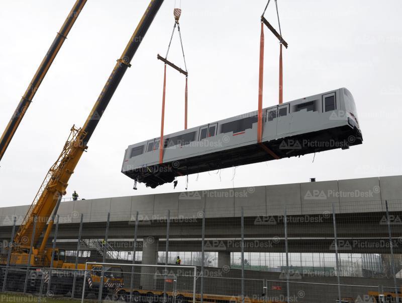 Bergung havarierter U-Bahn