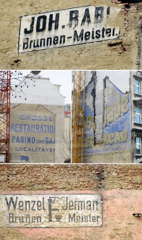 """""""Feuermauer-Fresken"""": Werbungen aus einer längst vergangenen Zeit"""
