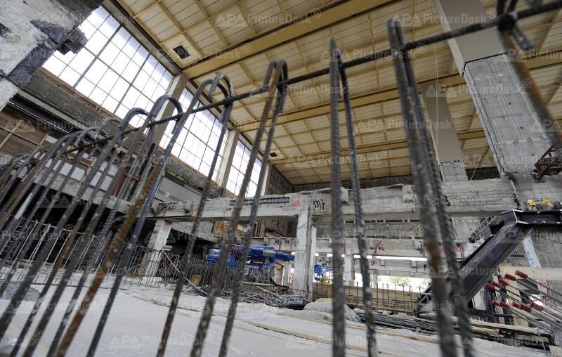 Baustelle Wiener Westbahnhof