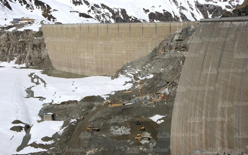 Bau des Kraftwerks Kaprun: Limberg II