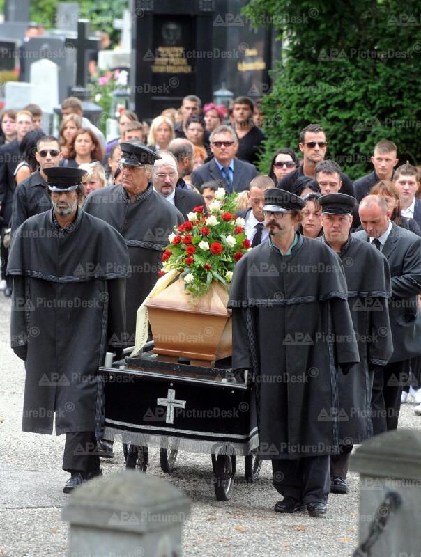 Begräbnis des 14-jährigen Florian P. in Krems