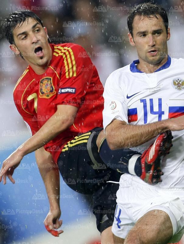Euro 2008: Spiel Spanien vs Russland