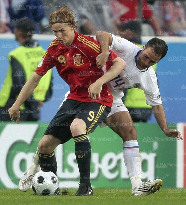 Euro 2008: Spanien vs Russland