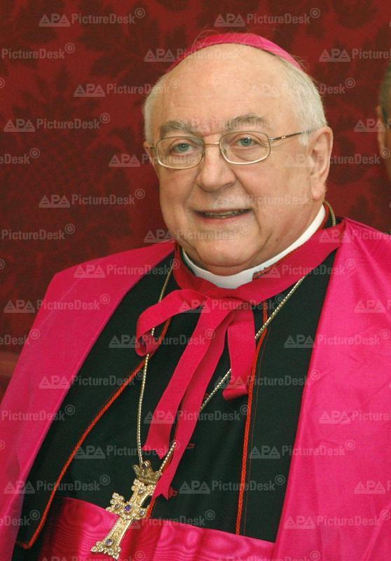 Apostolischer Nuntius Zurbriggen bei BP Fischer