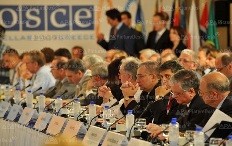 Außenminister Spindelegger bei informellem OSCE-Treffen
