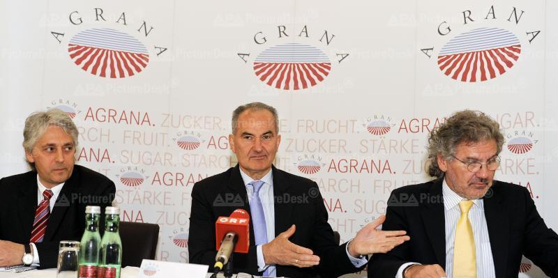 Agrana Beteiligungs-AG - Fritz Gattermayer, Johann Marihart und Walter Grausam