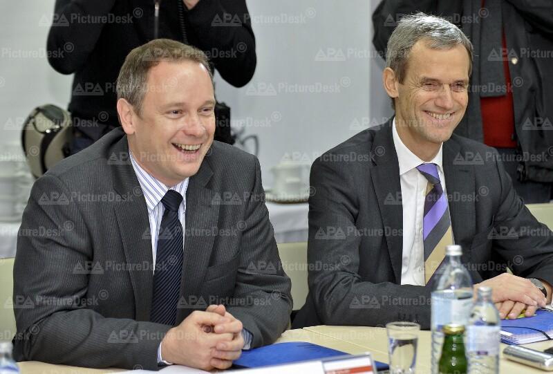 Georg Fahrenschon und Michael Kemmer