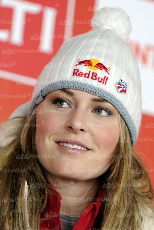 Alpine Ski WM In Val d'Isere 2009 - Lindsey Vonn