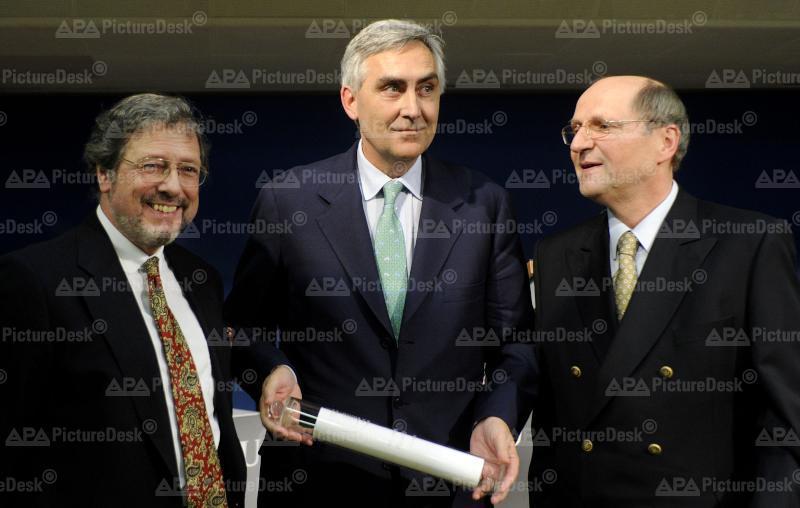 Fritz Scheuch, Peter Löscher und Christoph Badelt