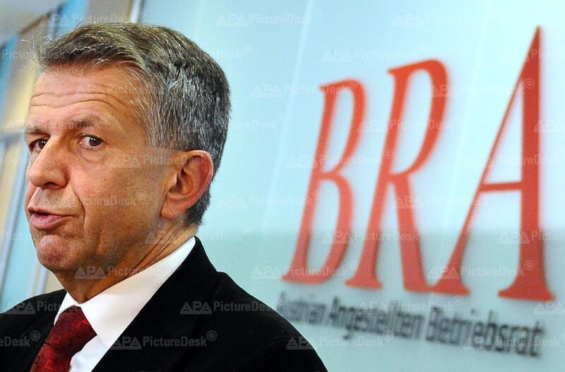 Alfred Junghans, Betriebsratsvorsitzender des Bodenpersonals der Austrian Airlines AG