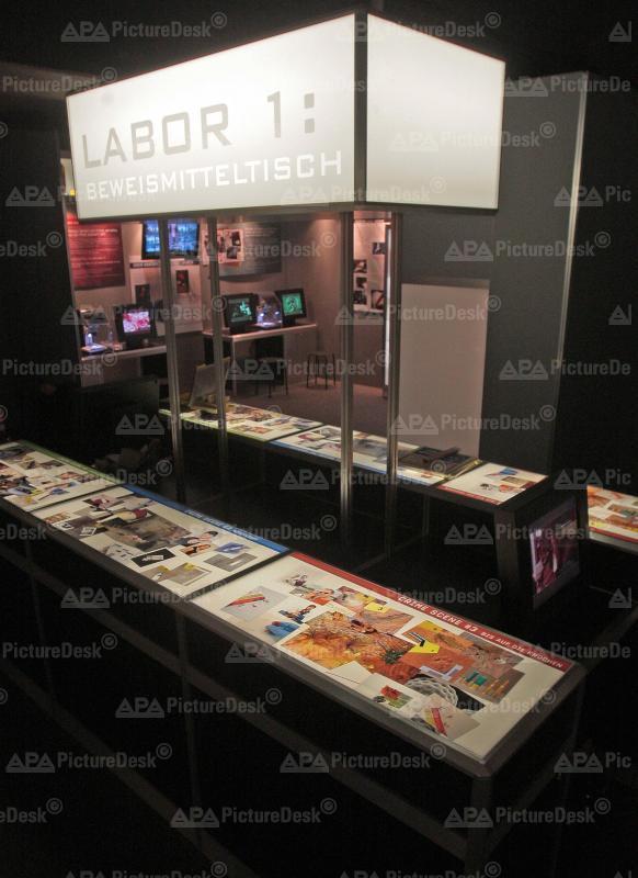Ausstellung: CSI - The Experience