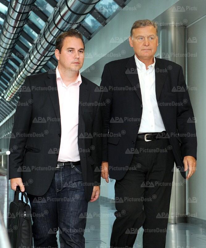 Walter Hotz und Alexander Sollak