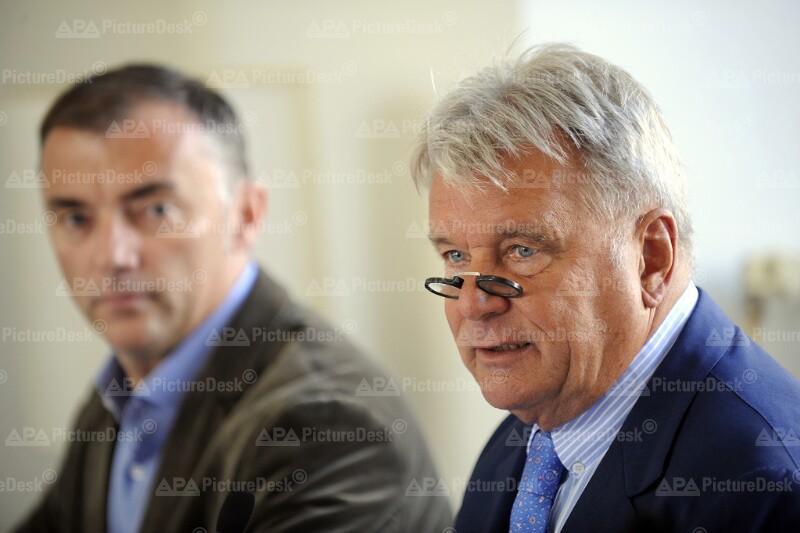 Stefan Wehinger und Hans Peter Haselsteiner