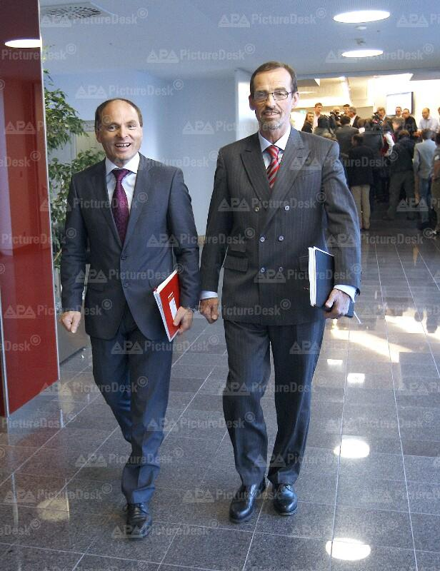 Alfred Hintringer und Christoph Hinteregger