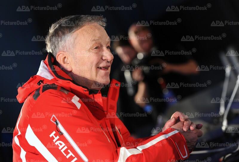 ALPINE SKI-WM IN GARMISCH-PARTENKIRCHEN: FIS-PK/ KASPER