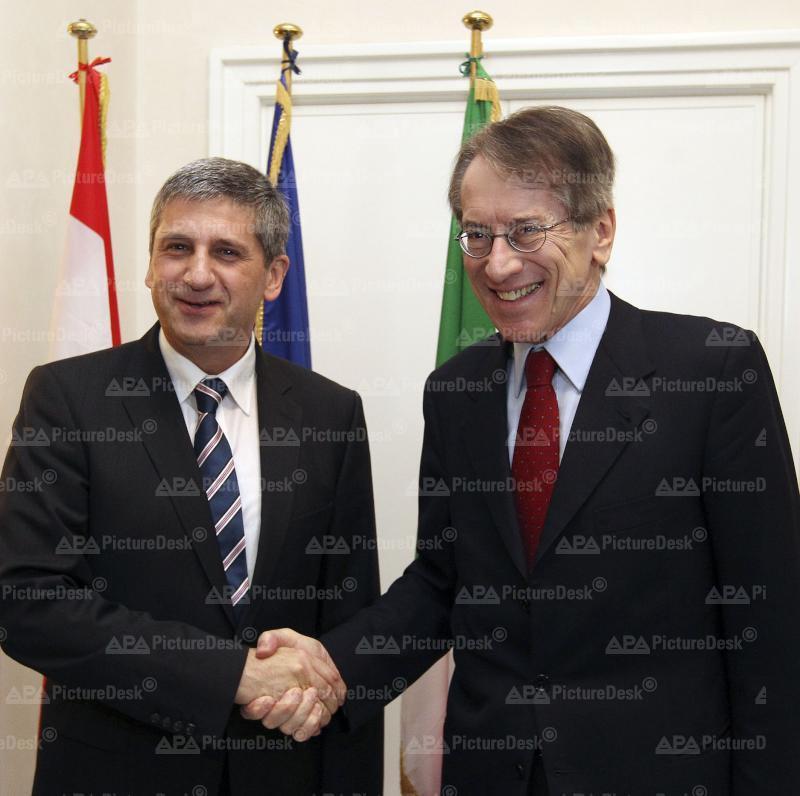 Außenminister Spindelegger auf Arbeitsbesuch in Italien