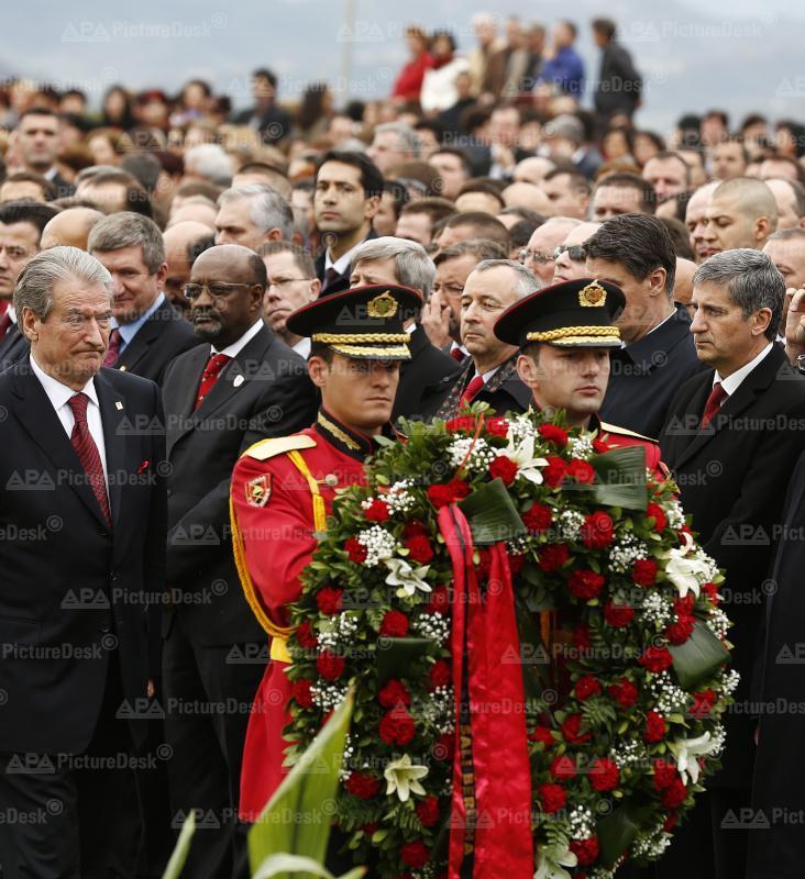 Albanien feiert 100-jähriges Staatsjubiläum