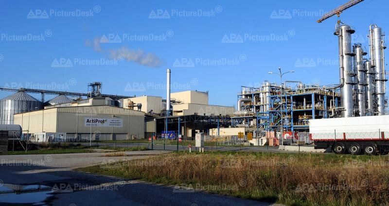 Agrana-Biosprit-Werk in Pischelsdorf