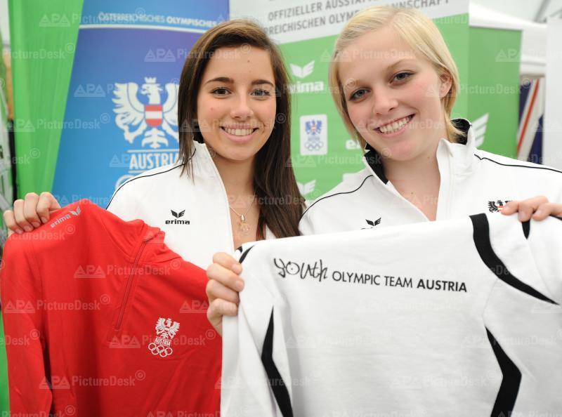 EINKLEIDUNG FUER DIE YOUTH OLYMPIC GAMES 2012: PROCK/KASTLUNGER
