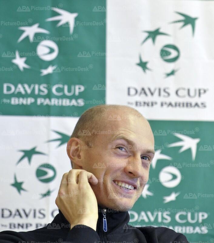 DAVIS CUP OESTERREICH - RUSSLAND: DAVYDENKO