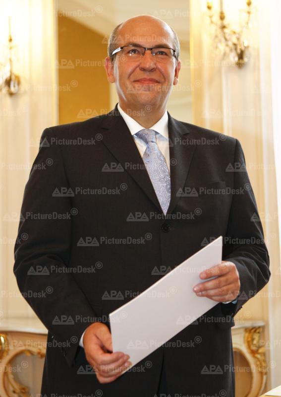 Wien - Neuer Verfassungsrichter - Helmut Hörtenhuber