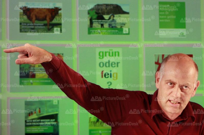 Die Grünen präsentieren  Wahlplakate