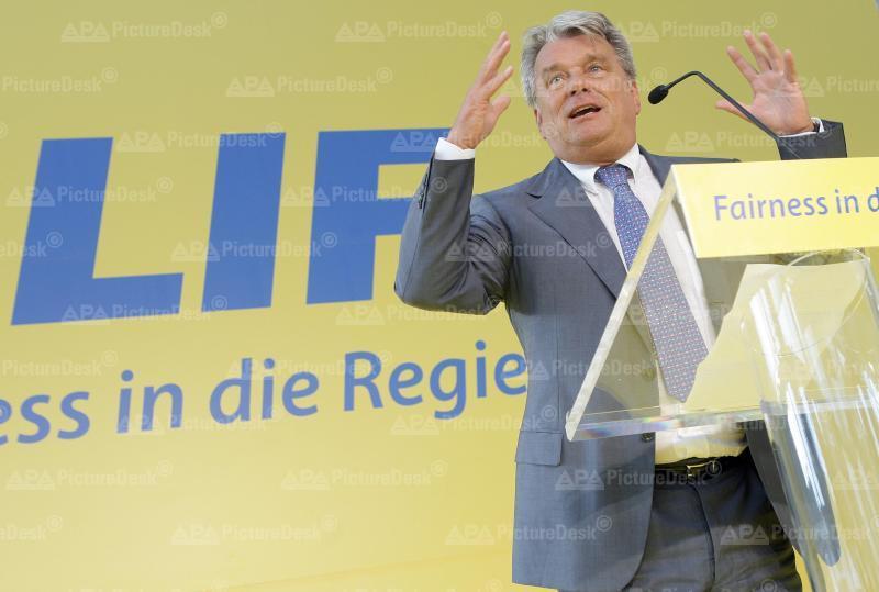 Hans-Peter Haselsteiner bei einer LIF-Veranstaltung