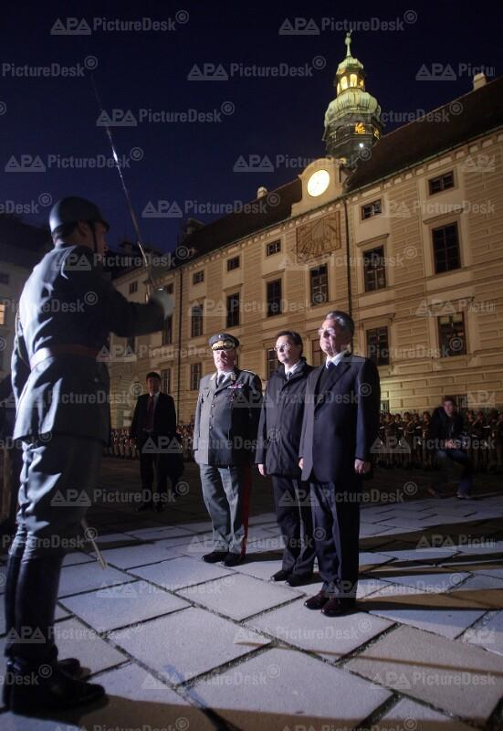 Festakt des Bundesheeres anlässlich des 70. Geburtstages von Bundespräsident Heinz Fischer