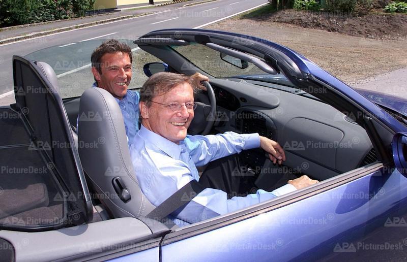 Wolgang Schüssel und Jörg Haider