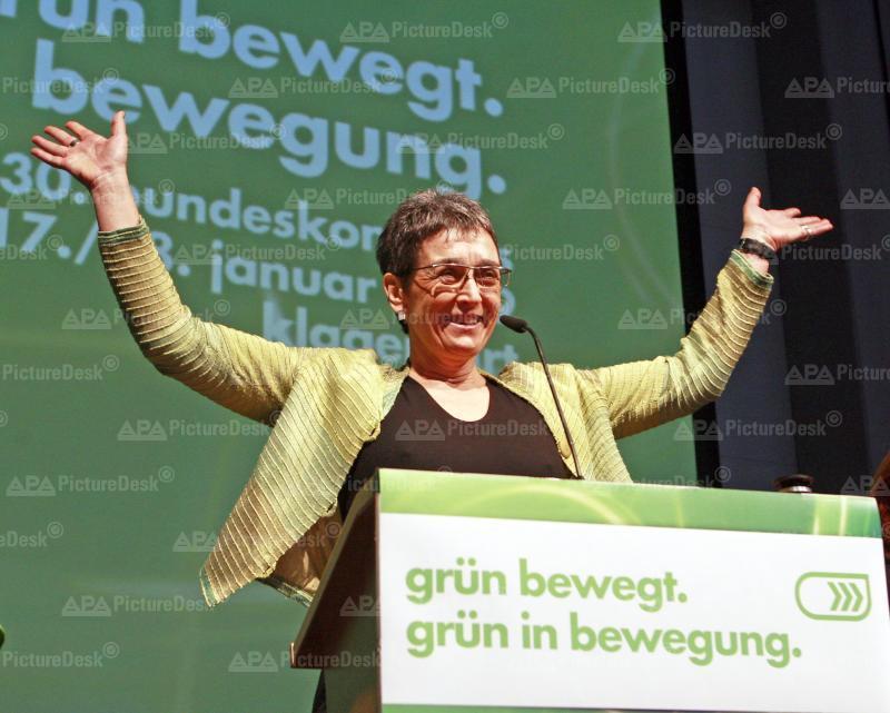 Bundeskongress der Grünen in Klagenfurt