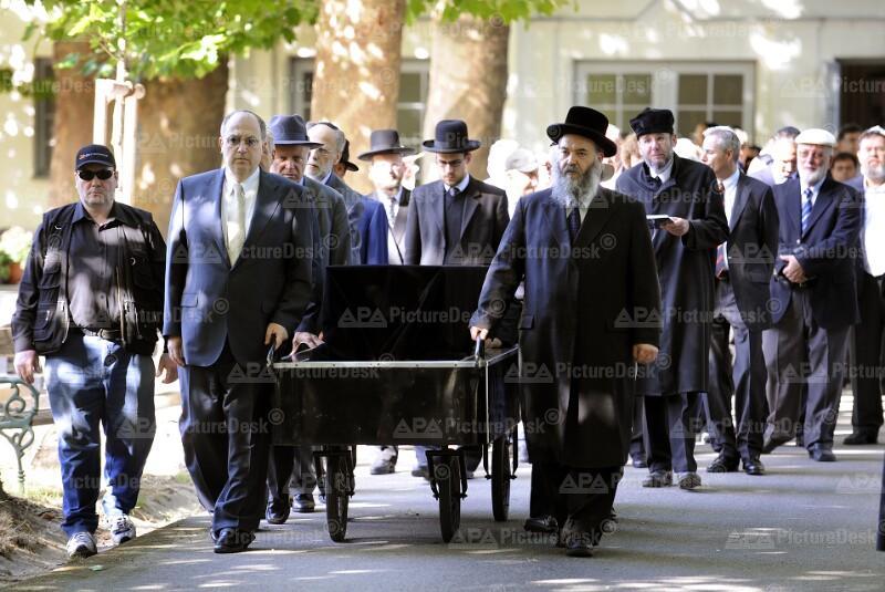 Begräbnis von Paul Grosz
